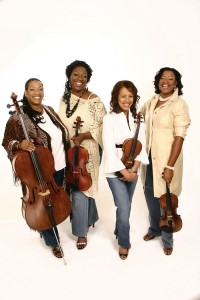 Marian Anderson String Quartet: Prudence McDaniel, Diedra Lawrence, Marianne Henry, Nicole Cherry