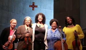 Wonderful performance with MASQ and mezzo soprano Ruby Hinds in Jacksonville Beach, Florida.