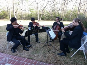 MASQ-CMS students perform on March 29, 2014 at the Brazos Valley Arts Council anniversary party